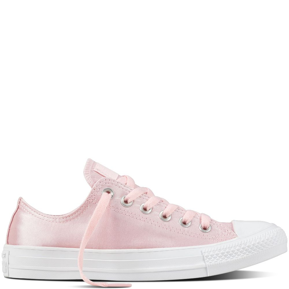 08a8f0b0492e Chuck Taylor All Star Satin Arctic Pink Arctic Pink White