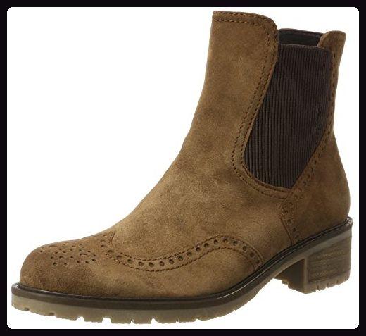 Gabor Shoes Damen Comfort Basic Chelsea Boots, Braun (34 Nut