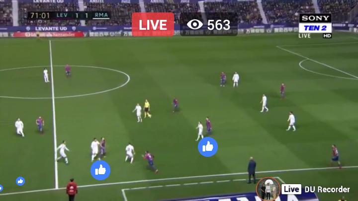 LA LIGA Live Football Spanish Primera Division Real