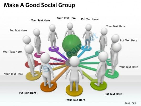 Make A Good Social Group Ppt Graphics Icons Powerpoint