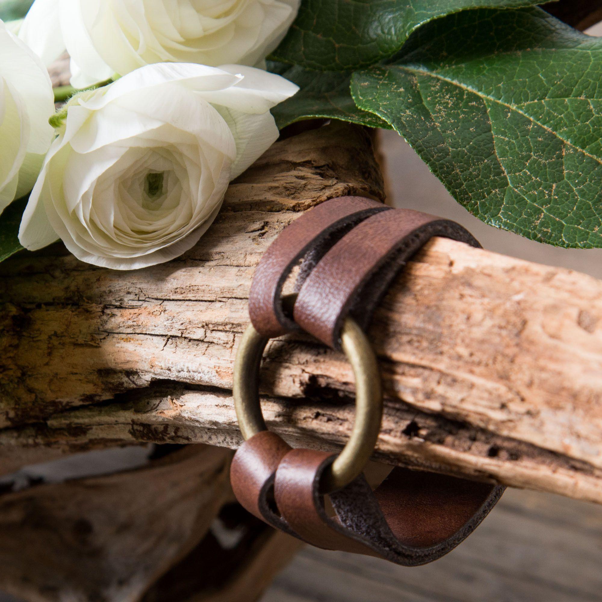 Mini Leather Bracelet - Magnolia Market | Chip Joanna