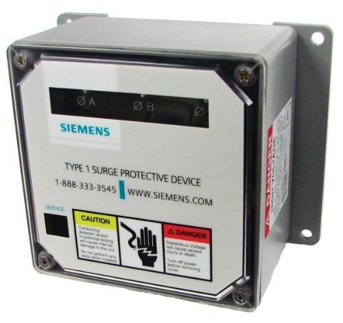 Siemens Tps3a1110d 120240volt 100ka Per Phase Level 2 Whole House Surge Protective Device You Can Find Out More D Surge Protection Surge Protectors Siemens