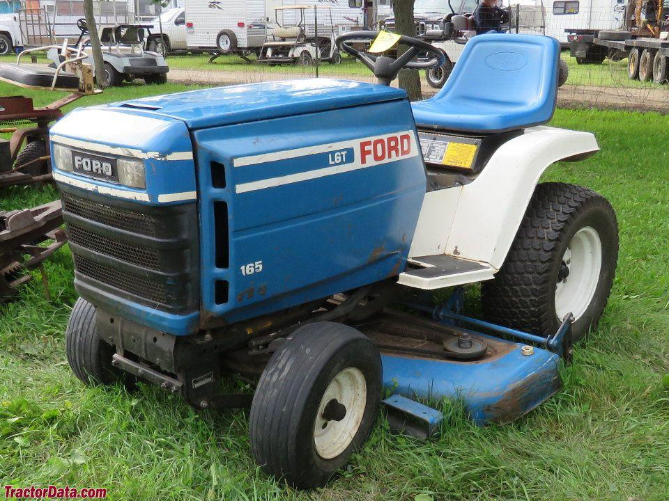 FORD LAWN TRACTOR OPERATORS | TractorData.com Ford LGT-165 tractor photos  information | Tractor photos, Lawn tractor, Tractor idea | Ford Lgt 125 Garden Tractor Wiring Diagram |  | Pinterest