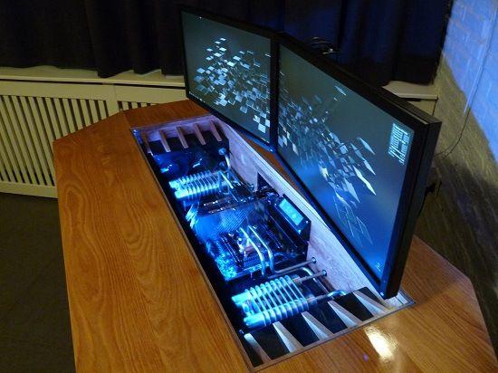 Unusual Pc Case Mods To Make Your Eyes Pop Performance Psu Custom Computer Case Custom Computer Computer Case