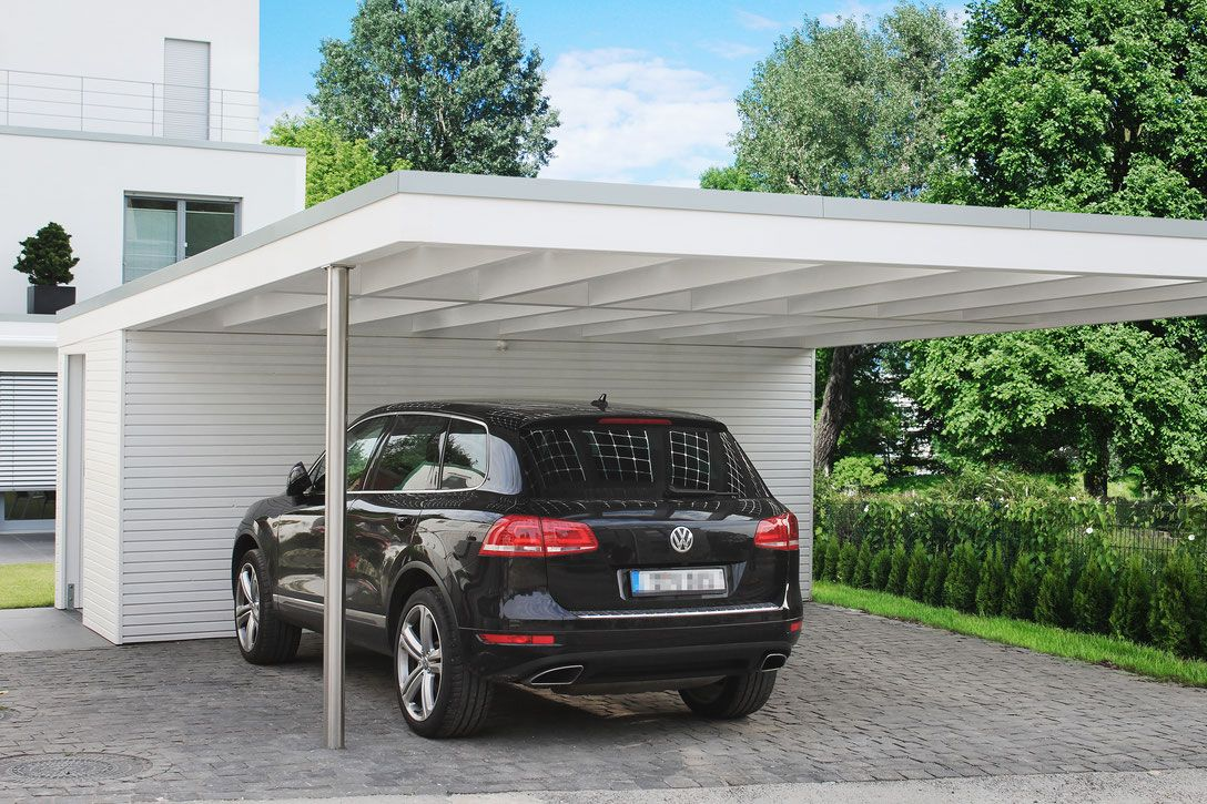 design carport mit edelstahl solarterrassen carportwerk gmbh id er pinterest. Black Bedroom Furniture Sets. Home Design Ideas