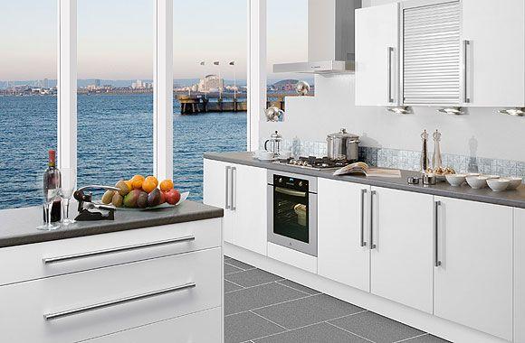 Modern-small-white-kitchen-design Kitchen reno ideas Pinterest - nolte küchen katalog 2013