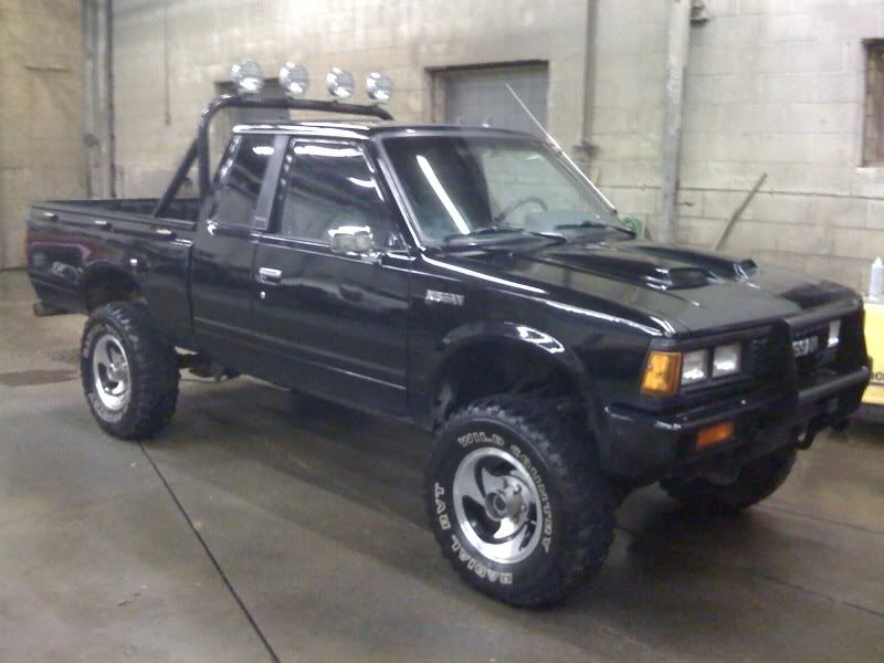 1983 datsun 720 4x4 for trade datsuns for sale wanted ratsun nissan 720 trucks. Black Bedroom Furniture Sets. Home Design Ideas
