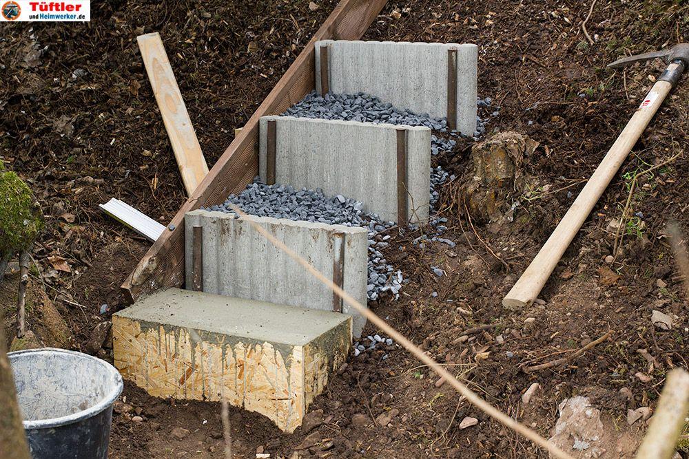 pin von janine mras auf garten garten treppe und aussentreppe. Black Bedroom Furniture Sets. Home Design Ideas