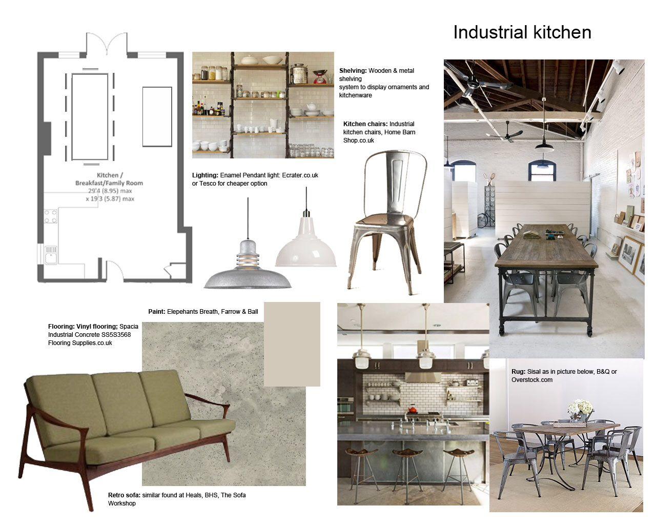 Industrial look layout architecture interior pinterest