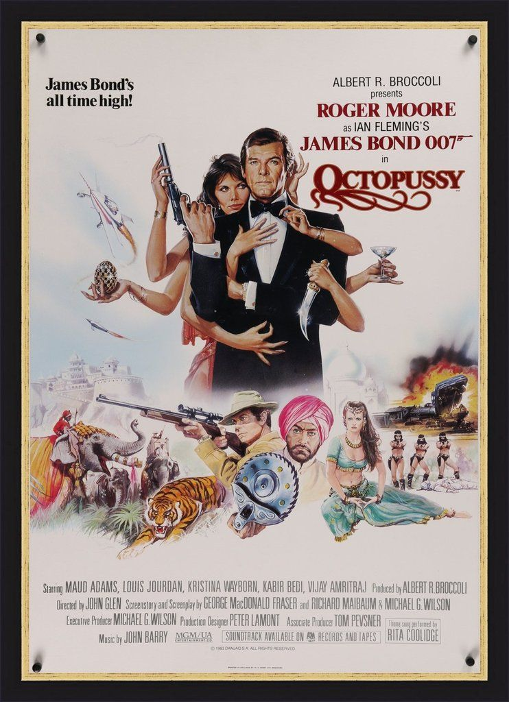 James Bond - Octopussy - 1983 in 2020 (With images