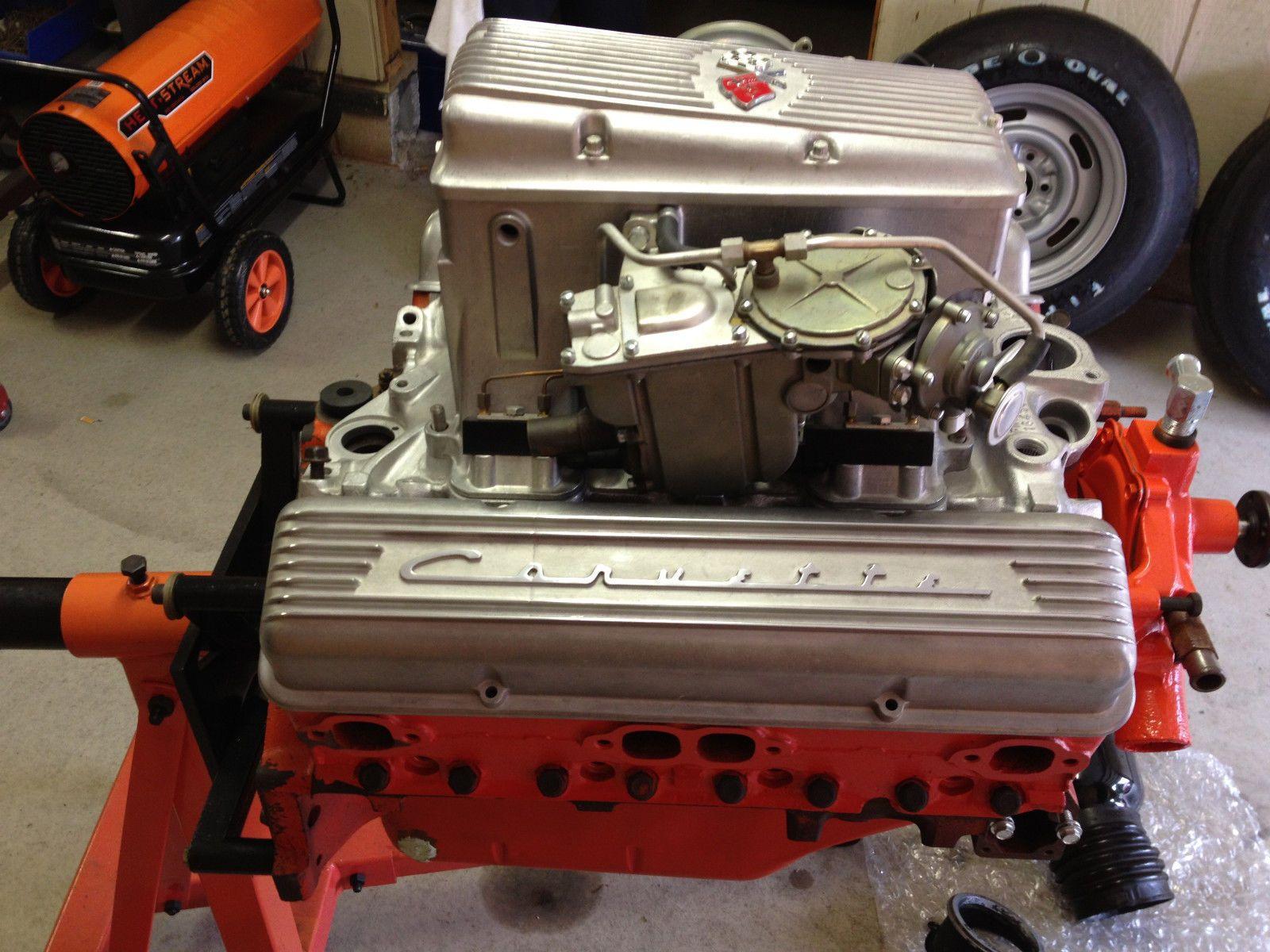1963 Corvette 327 Fuelie Engine Complete All Rebuilt Fresh Corvette Chevy Trucks Chevy