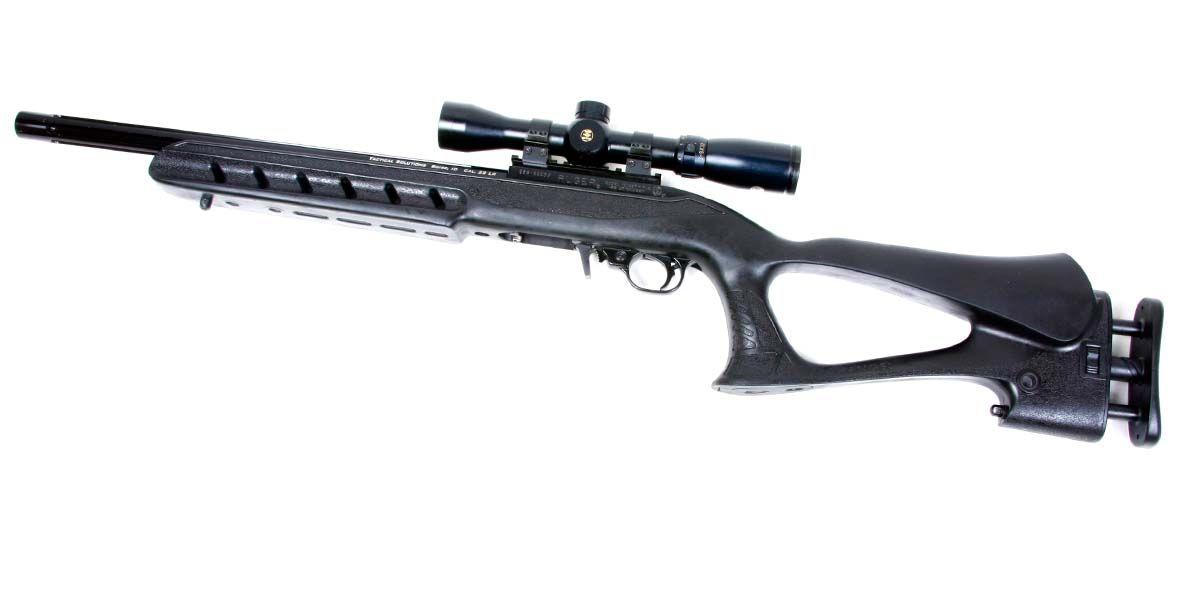 Ruger 1022 Target Lite Thumbhole Im Kaliber 22lr: Ruger 10/22 .22LR With Archangel Deluxe Target Stock