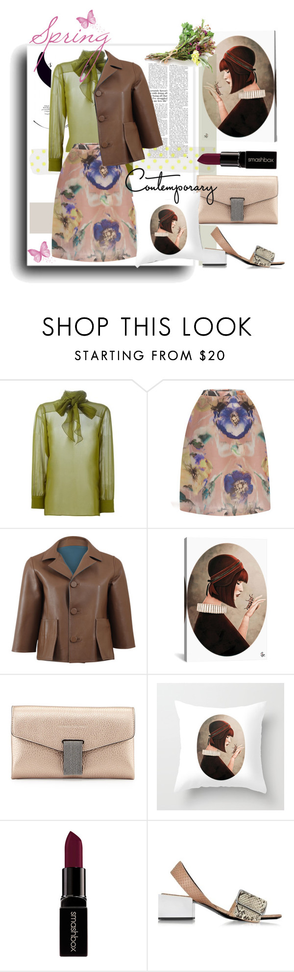 """March 19"" by anny951 ❤ liked on Polyvore featuring Gucci, Marni, Brunello Cucinelli, Smashbox and Jil Sander"