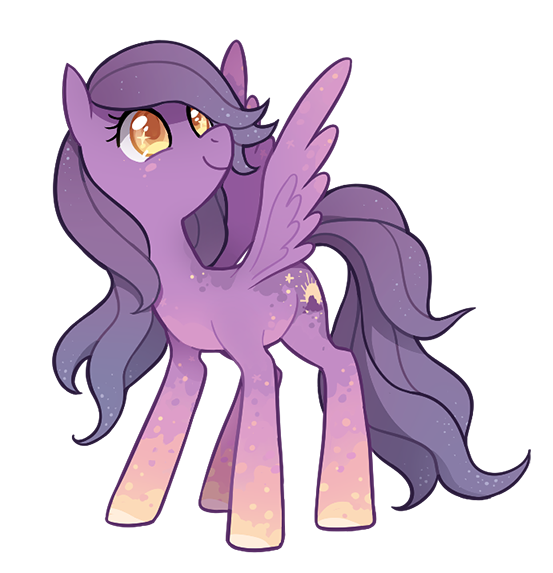 commission -- lavender dawn by tsurime.deviantart.com on @deviantART