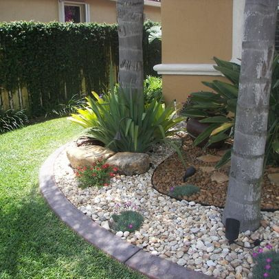 River Rock Garden Design, Pictures, Remodel, Decor And Ideas, .