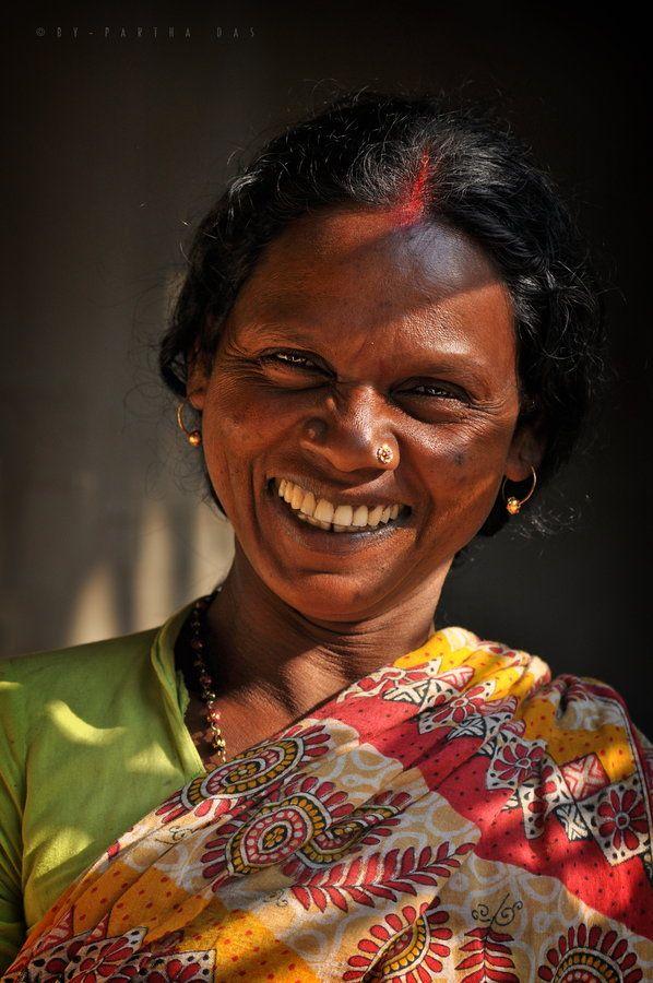 joyful face by Partha Das, via 500px