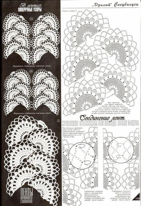 вязание крючком - Самое интересное в блогах | ленточное вязание ...