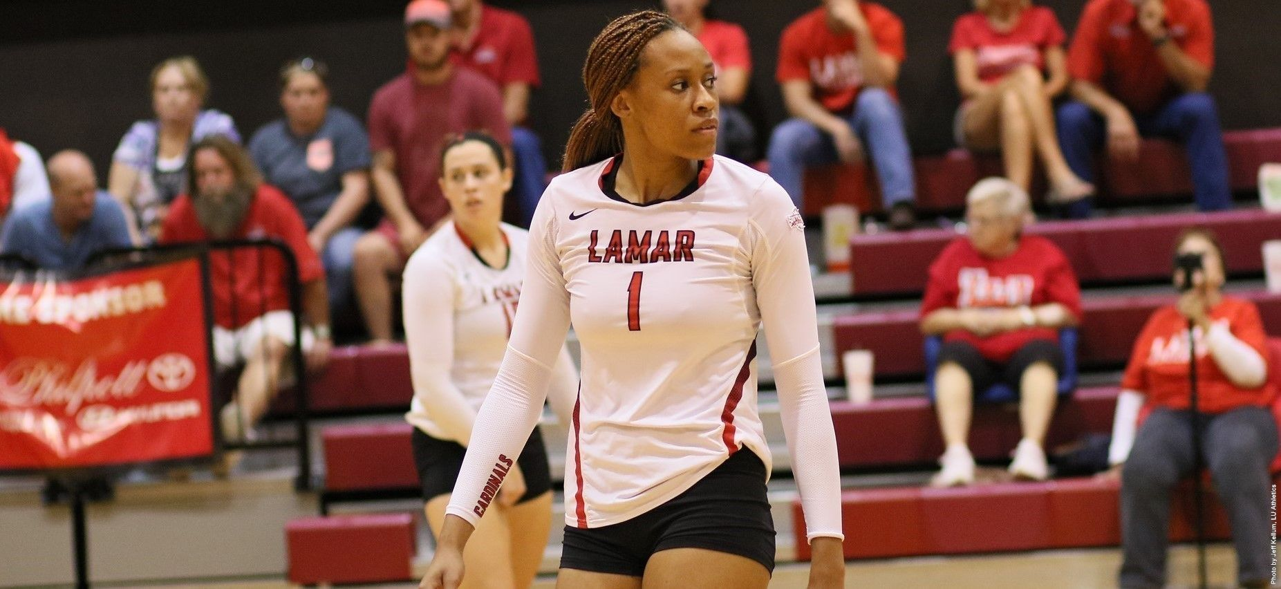Grant Chosen First Team All Southland Volleyball News One Team Lamar University