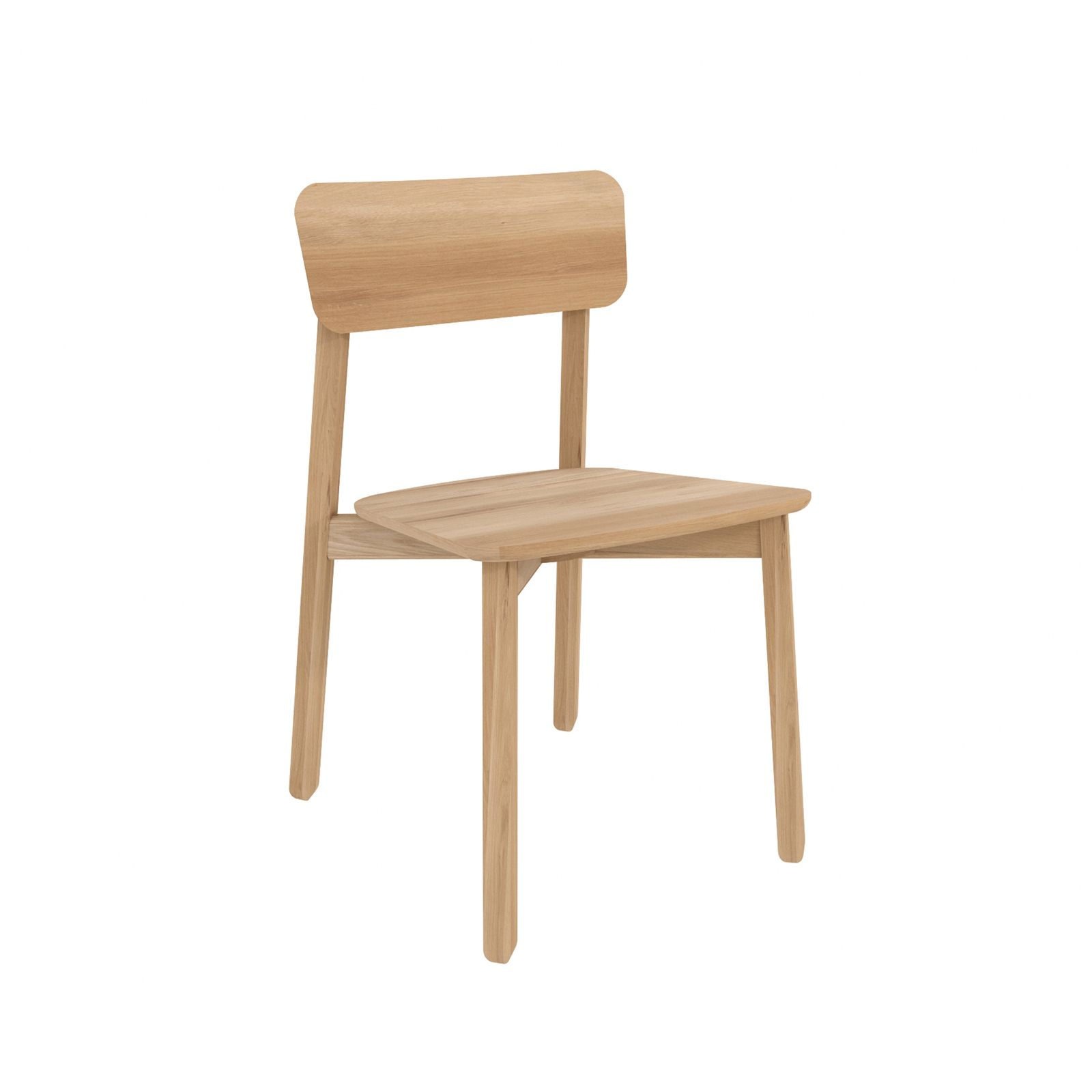 Oak Casale Dining Chair By Ethnicraft Dining Chairs Modern