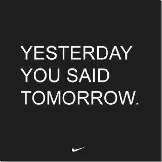 Running motivation.....tomorrow finally came!