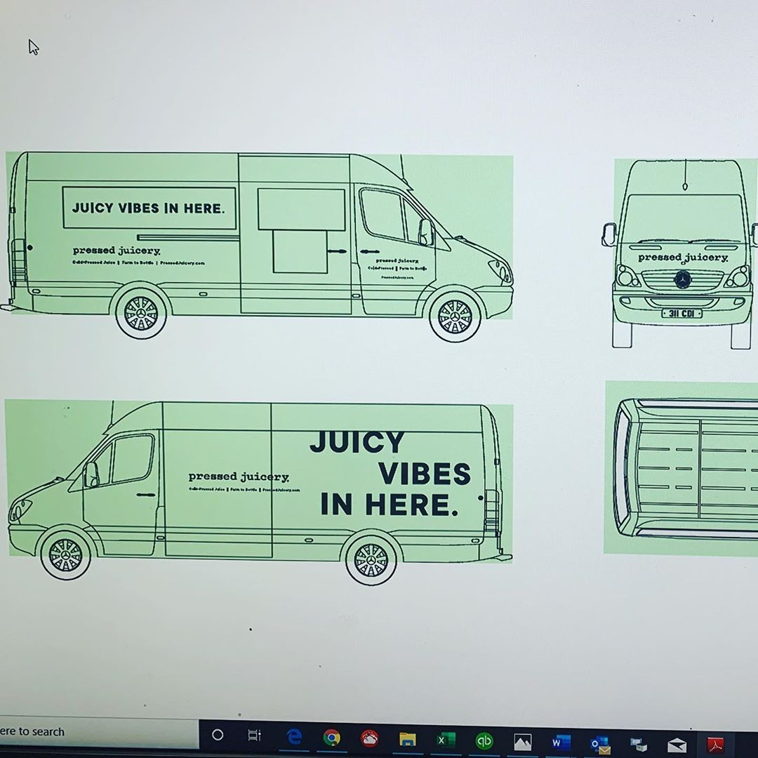 How to Make Passive Income & Love What You Do with CTFO Pressed Juicery truck is getting together. . . . . .