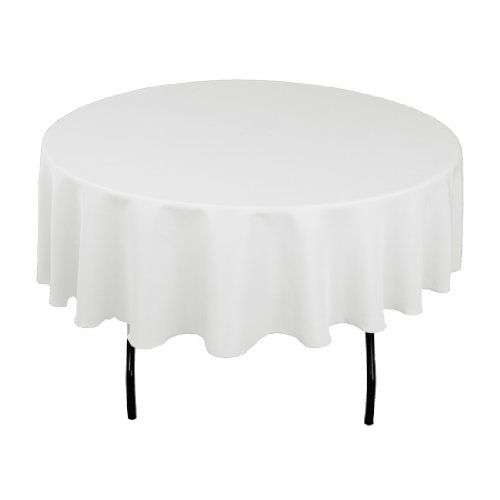 Top 10 White Round Table Cloths For Parties Of 2020 White Table