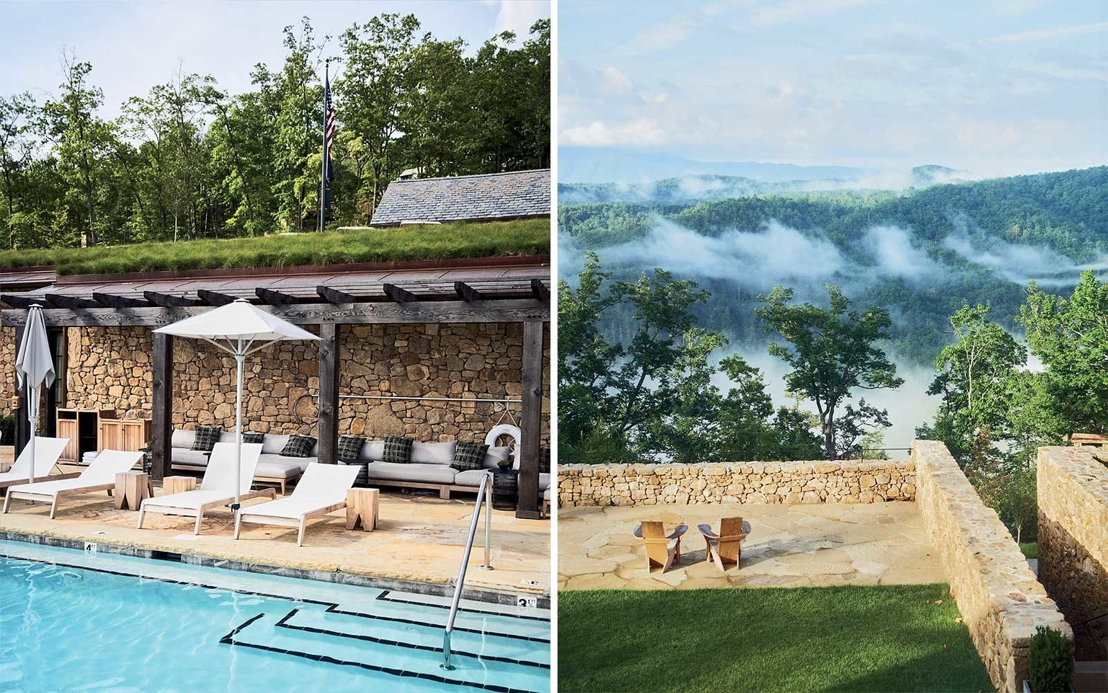 Blackberry Farm, a resort in Tennessee's Great Smoky Mountains, recently debuted Blackberry Mountain, a wellness-focused resort nearby.