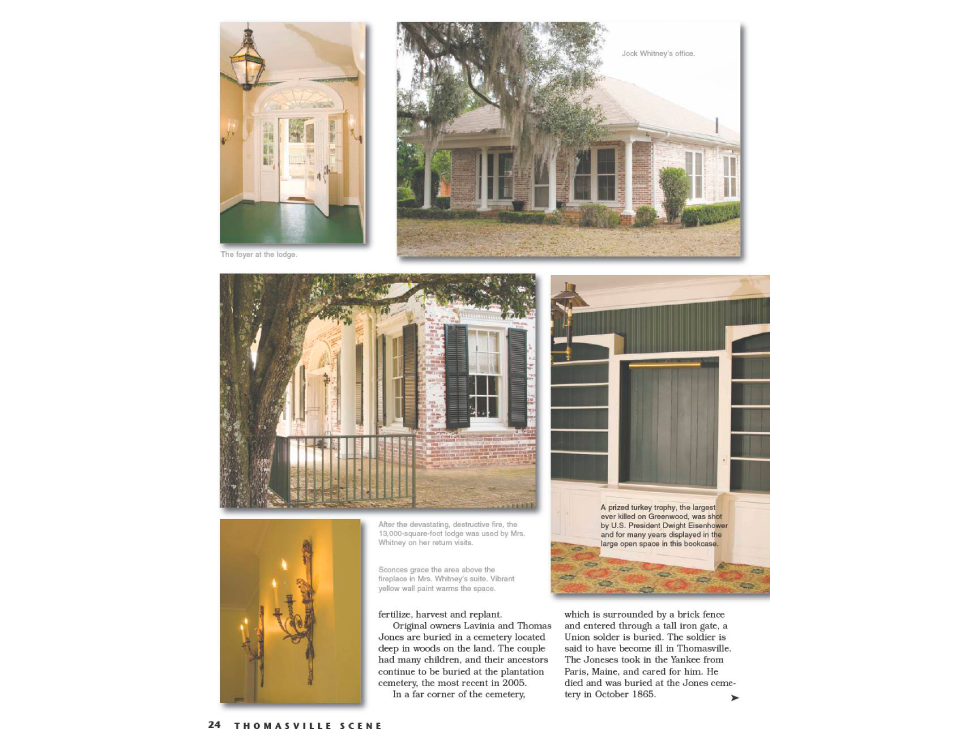 Greenwood Thomasville, Gothic revival