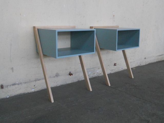 Lean Two A Set Of Bedside Tables Nightstands With Images Bedside Tables Nightstands Bedside Table Table