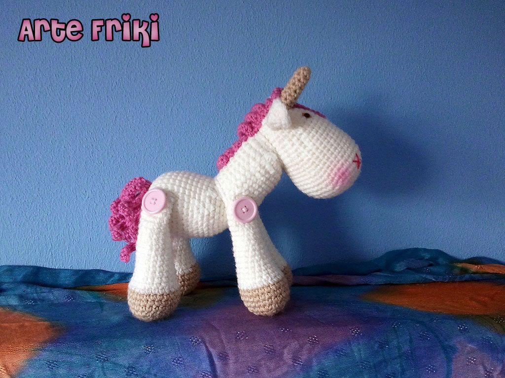 Amigurumi Unicornio Tutorial : Sleeping unicorn pony crochet pattern amigurumi today
