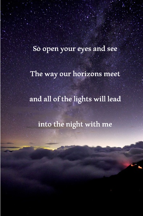 Open Your Eyes And Really See Stars >> Ed Sheeran All Of The Stars Song Lyrics Song Lyrics Ed