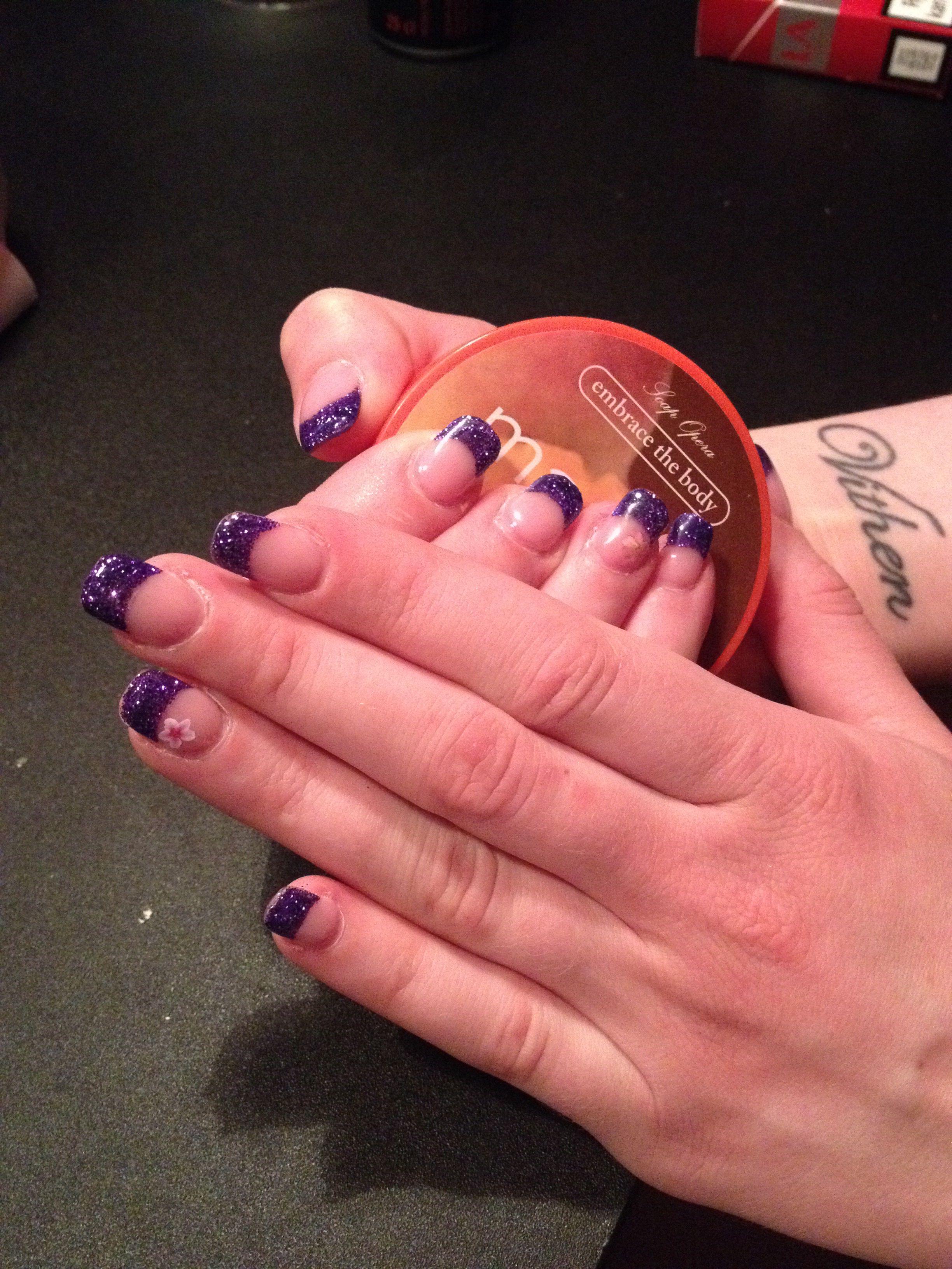 Super flotte negle - lavet af min søde veninde Anne ;)