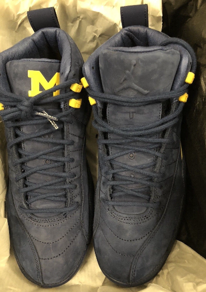 c767e7d6152cf0 The Air Jordan 12 Michigan PE is dropping this Saturday for  225.00. Who s  Copping