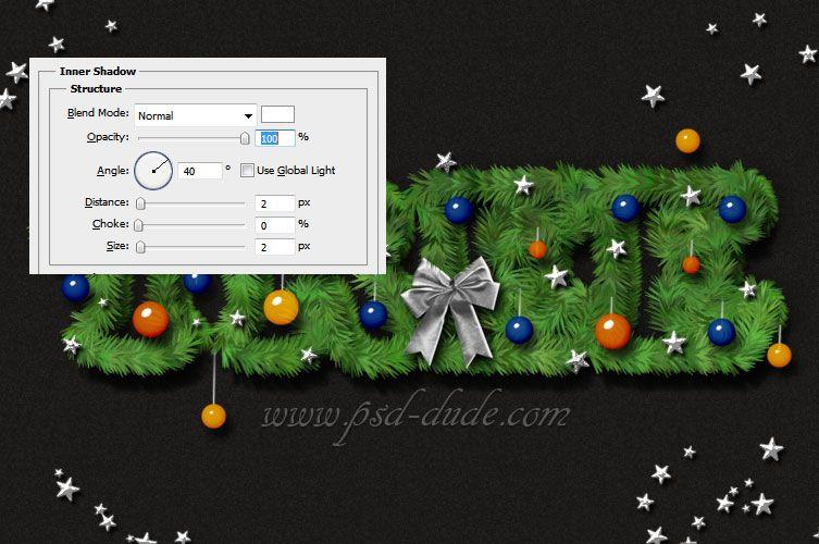 Christmas Tree Font Photoshop Tutorial Tree Photoshop Photoshop Tutorial Photoshop Text Effects