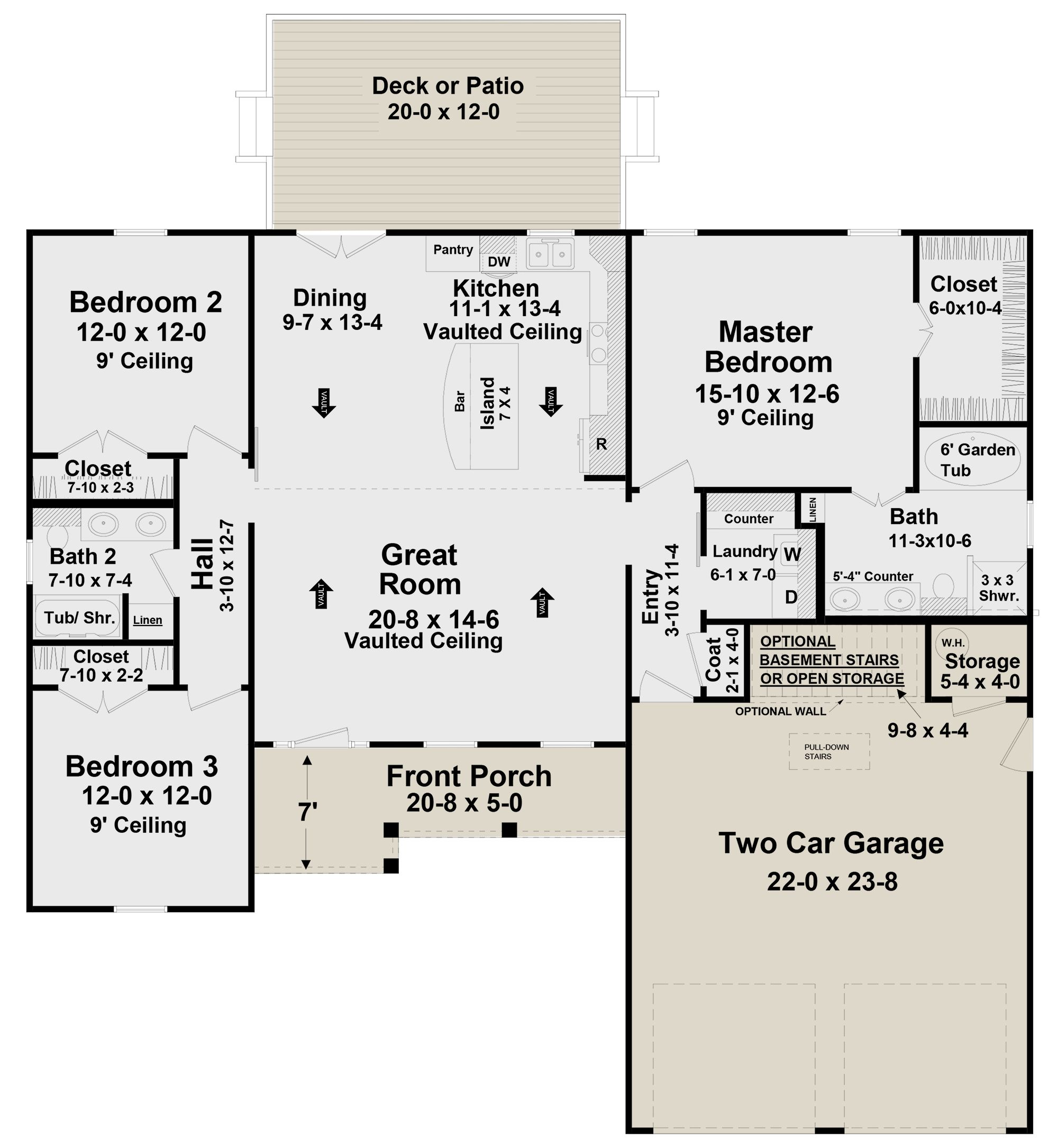 House Plan 348 00290 Modern Farmhouse Plan 1 600 Square Feet 3 Bedrooms 2 Bathrooms In 2021 Modern Farmhouse Plans Farmhouse Plans Lake House Plans