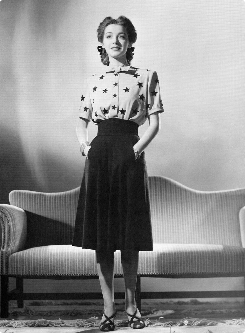 Five 40s Dresses That Capture The Era: Style Années 40, Mode Années 40, Idées