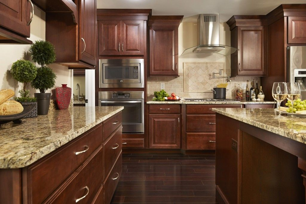 Best Southern Style In Classic Cherry Wood Kitchen Cabinets 400 x 300