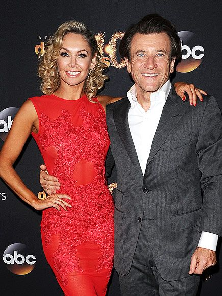 Tough deal: Robert Herjavec 'had Kym Johnson sign prenup capping any divorce payout at $1 million'