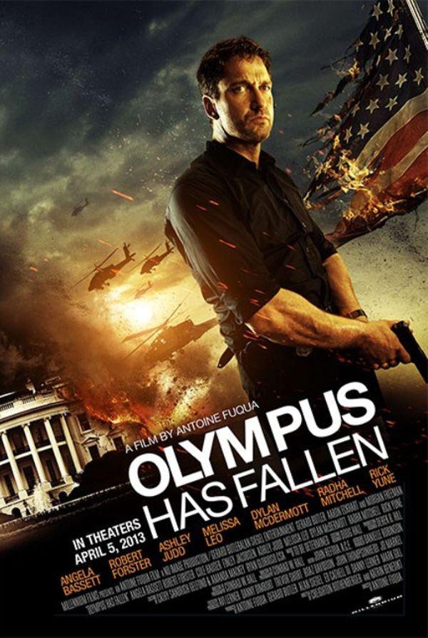 Gerard Butler E Destaque Nos Cartazes Do Filme Olympus Has Fallen