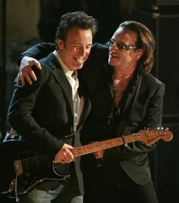 Bruce Springsteen and Bono AWESOME!!!!!