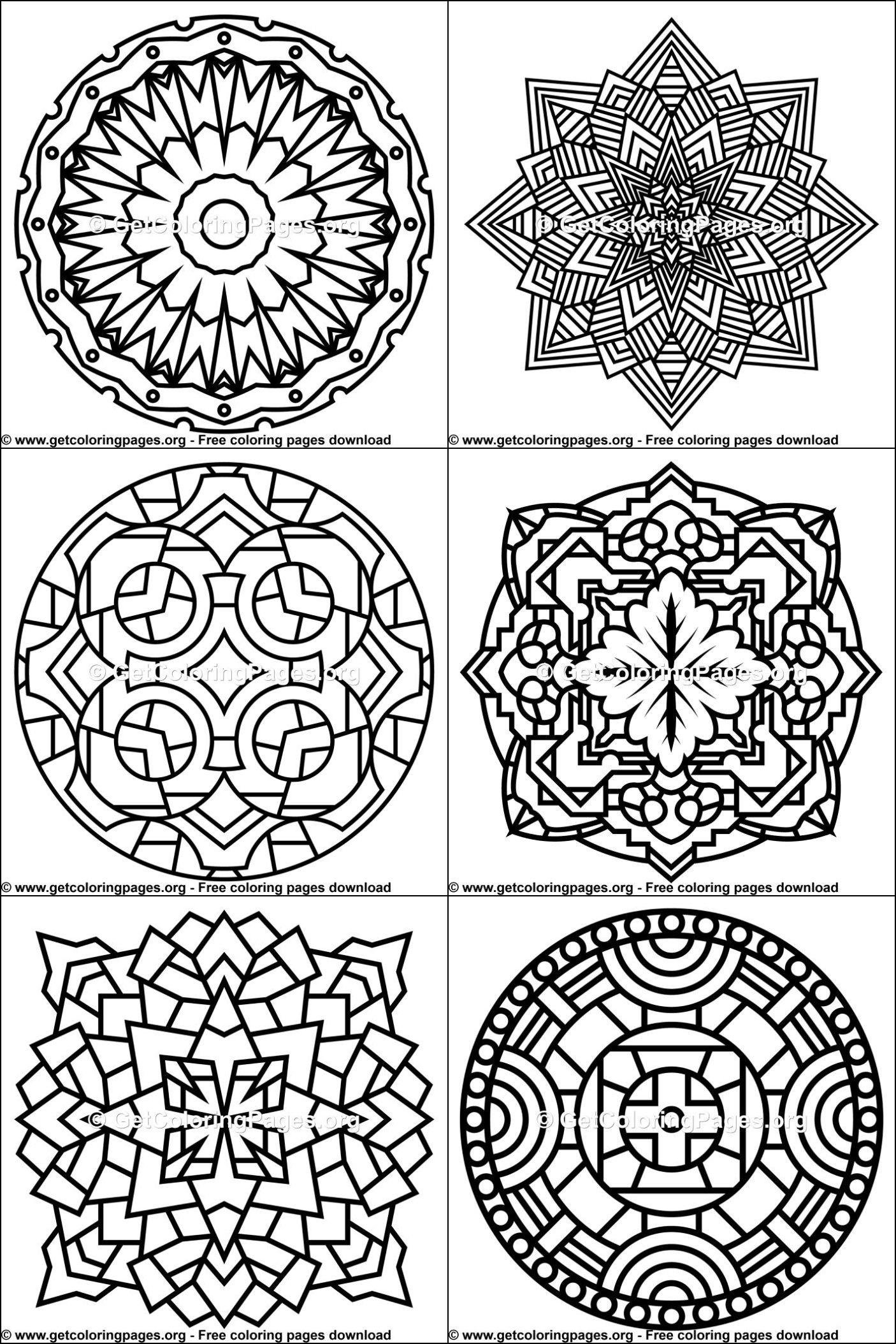Mandala Designs for Beginners | Mandala coloring pages ...