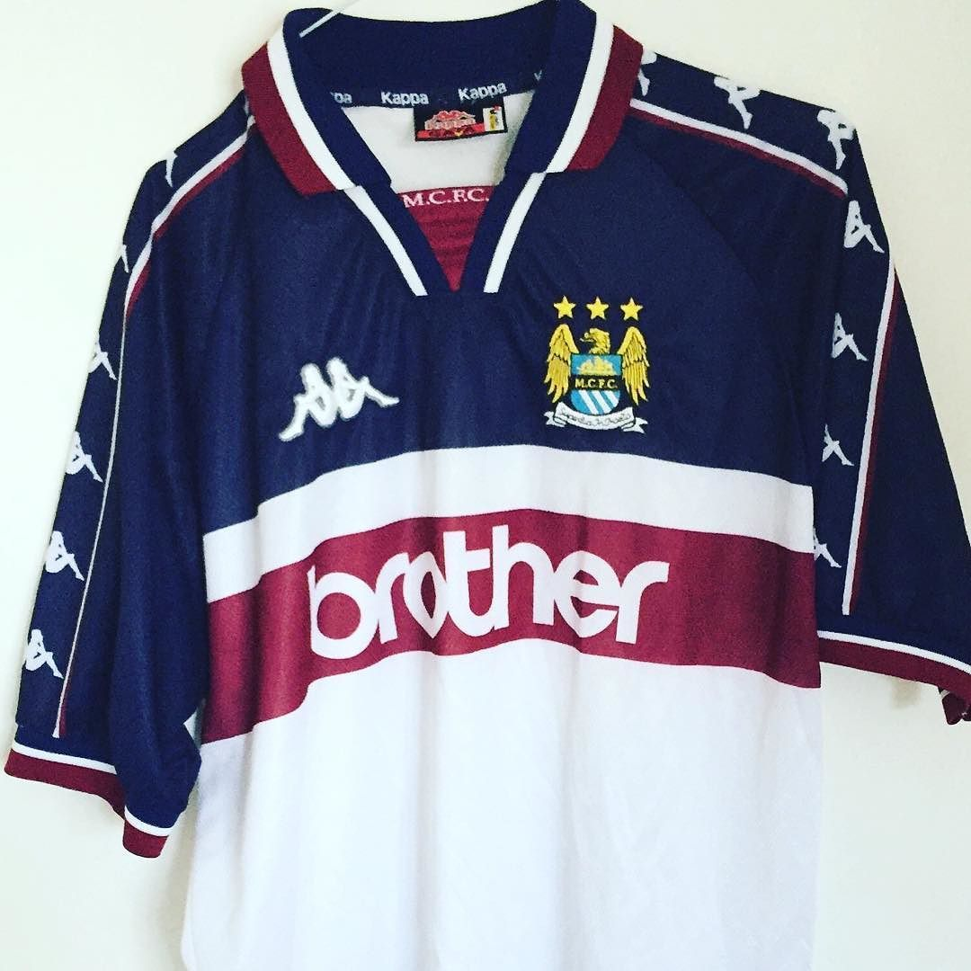 1997-98 Manchester City 3rd shirt L - vintage kappa City shirt. 10% off now  when you enter FSC at checkout  football footballshirt   footballshirtcollective ... ca61a72b1