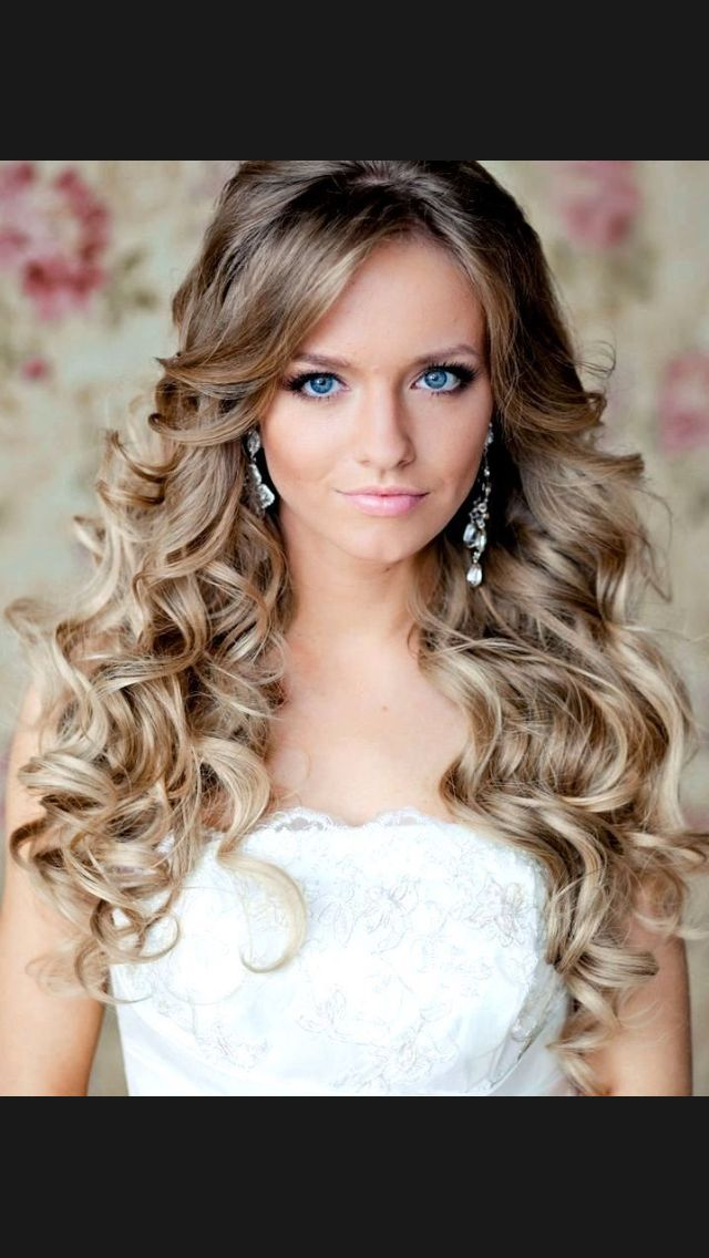 I Think That A Normal One Hair Styles Long Bridal Hair Curly Hair Styles