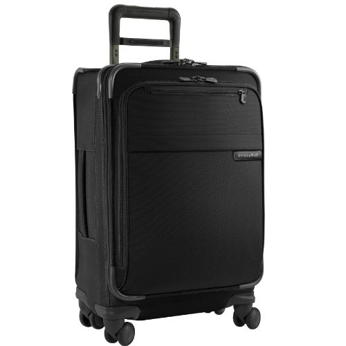 Briggs  Riley  Baseline Luggage Baseline Domestic CarryOn Spinner Bag Black Medium * Check out the image by visiting the link.