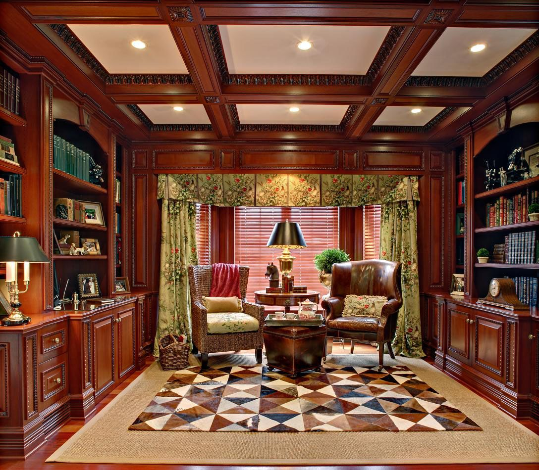 30 Classic Home Library Design Ideas Imposing Style - http ...