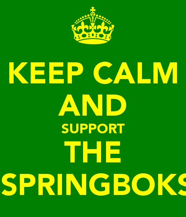Support The Springboks Springboks Rugby South Africa South Africa Rugby Springbok Rugby
