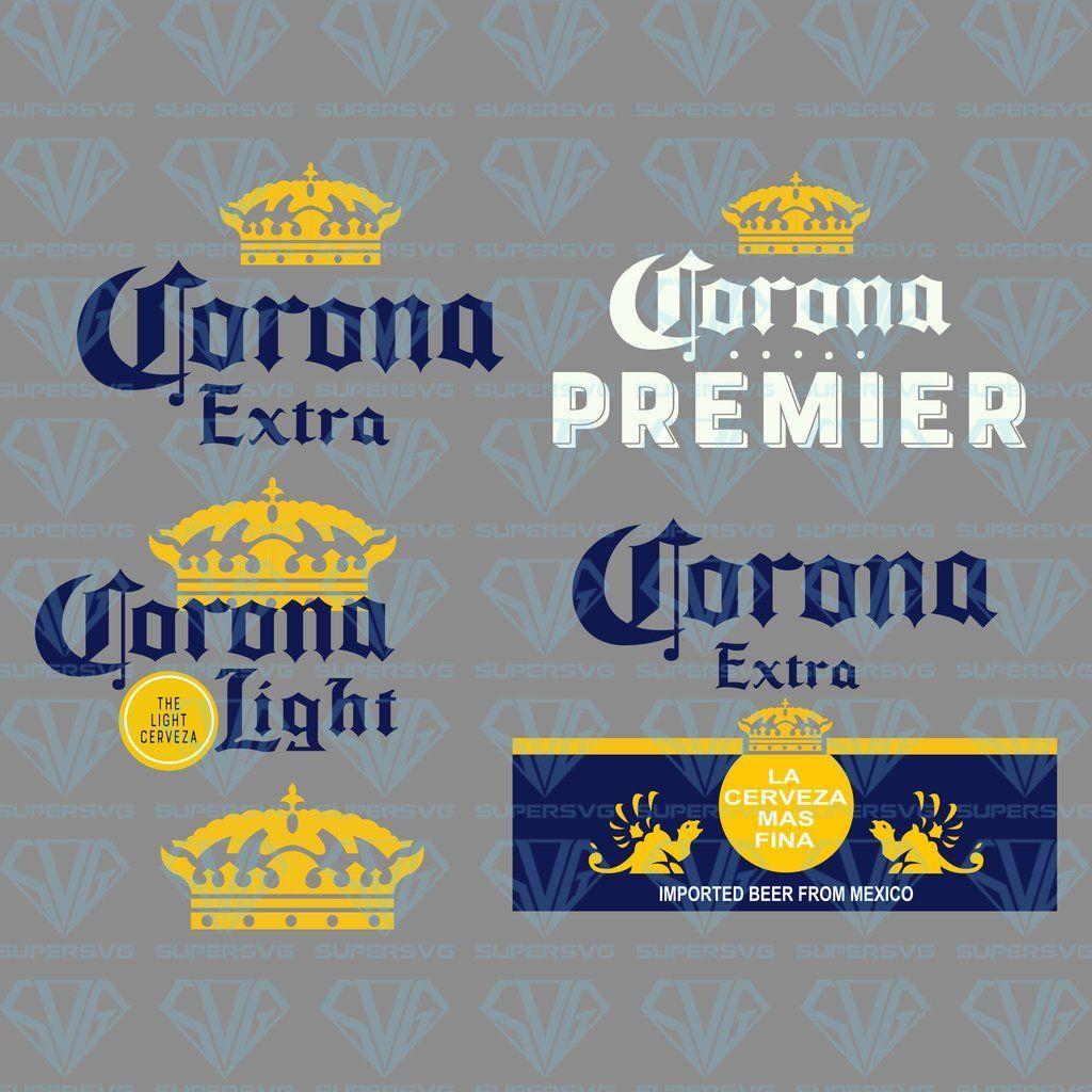 Beer Never Broke My Heart Corona Beer Bundle Svg Files For