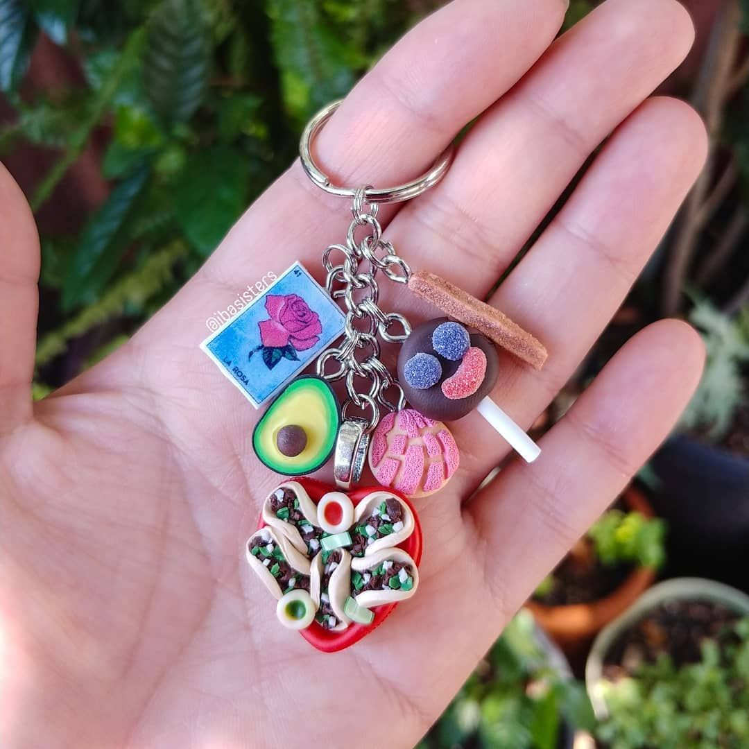 Create Your Own Mexican Food Key Chain By Iba Sisters