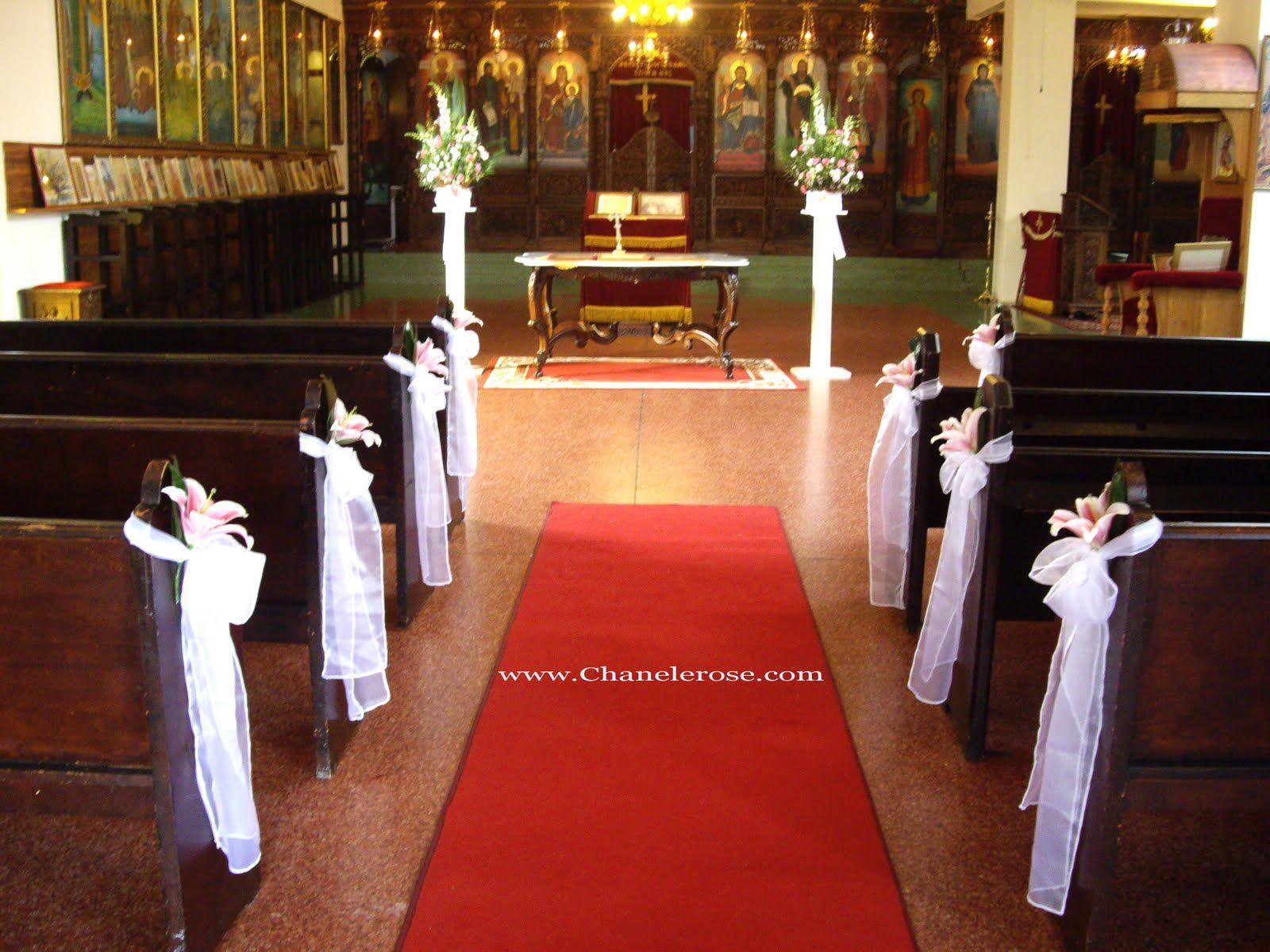 Sydney Wedding Stylist Florist Church Decorations