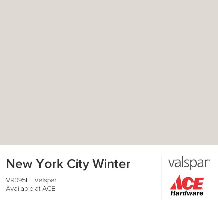New York City Winter From Valspar